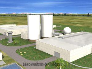 Mac Mahon 3D planta residuos