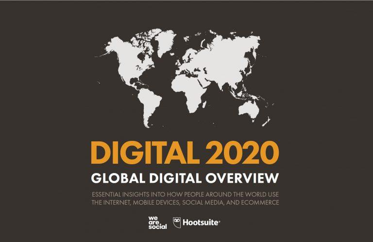Internet 2020. Datos actuales.