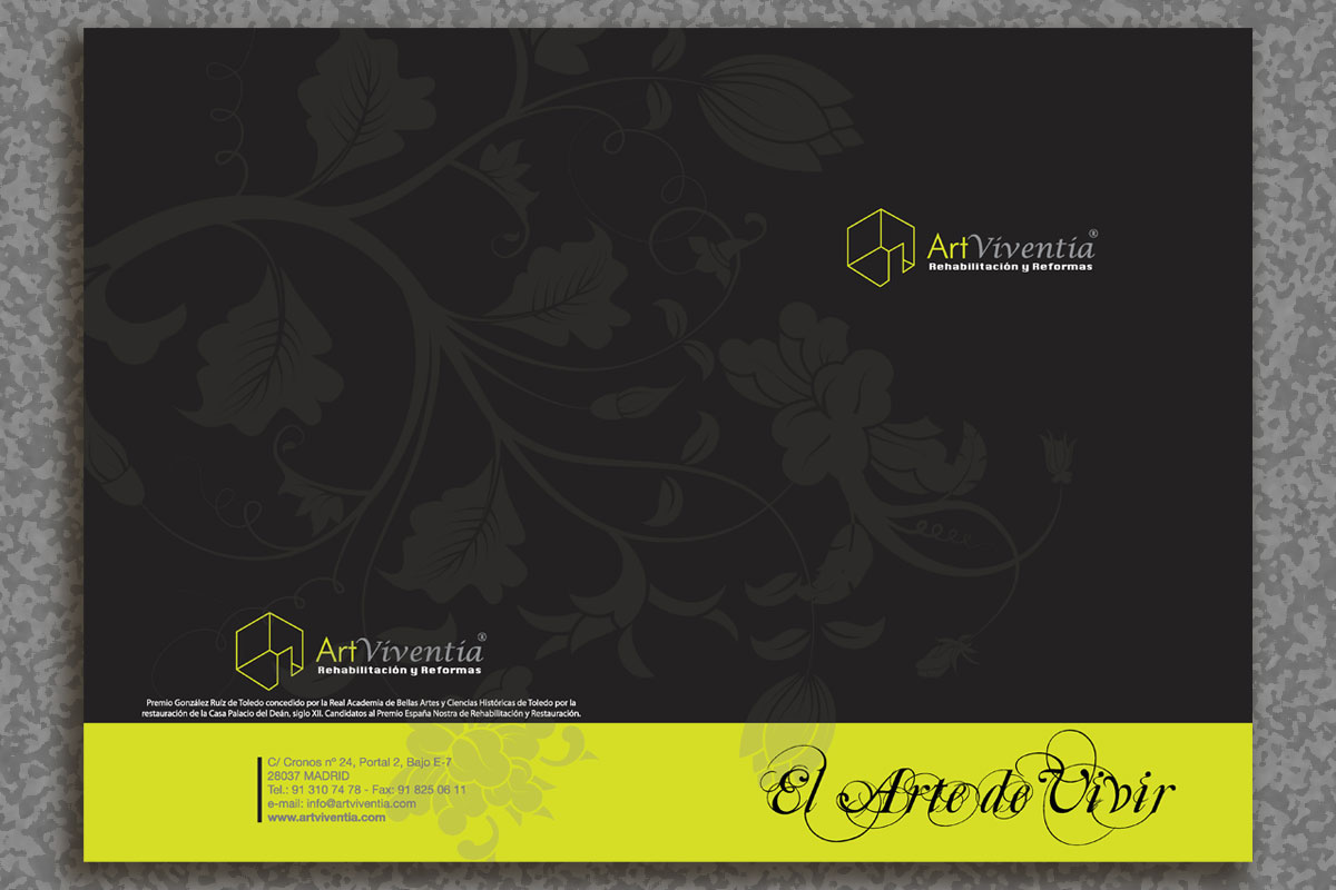 Mac-Mahon Publicidad exterios díptico ArtViventia