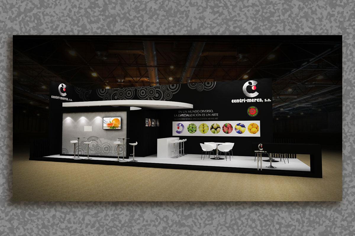 Mac-Mahon Publicidad Diseño stand CentriMerca